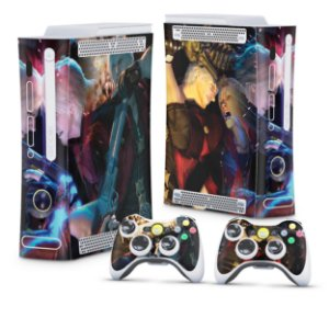 Xbox 360 Fat Skin - Devil May Cry 4