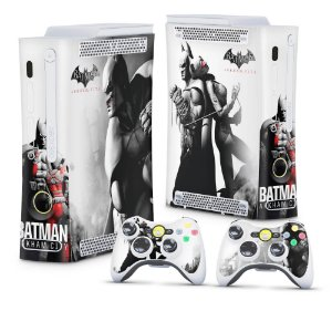 Xbox 360 Fat Skin - Batman Arkham City