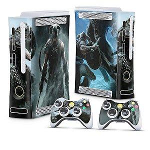 Xbox 360 Fat Skin - Skyrim