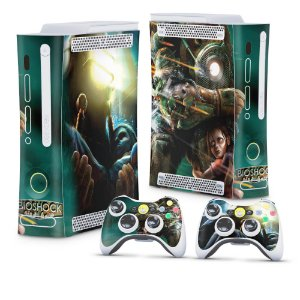 Xbox 360 Fat Skin - Bioshock