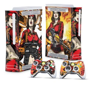 Xbox 360 Fat Skin - Command and Conquer Red Alert