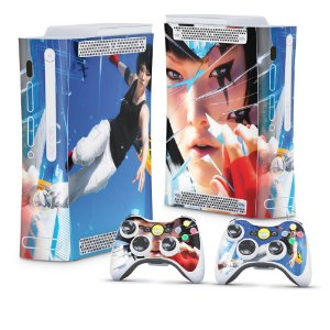 Xbox 360 Fat Skin - Mirrors Edge