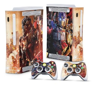Xbox 360 Fat Skin - Transformers Revenge of the Fallen