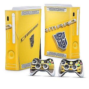 Xbox 360 Fat Skin - Transformers Camaro