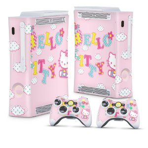 Xbox 360 Fat Skin - Hello Kitty