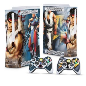 Xbox 360 Fat Skin - Street Fighter 4 #B