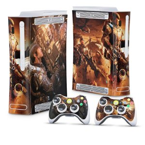 Xbox 360 Fat Skin - Gears of War 2