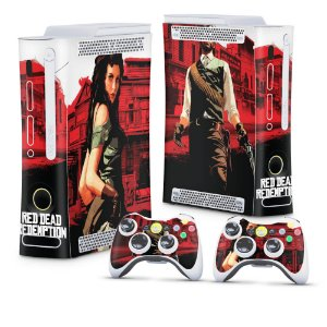 Xbox 360 Fat Skin - Red Dead Redemption