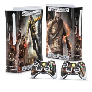 Xbox 360 Fat Skin - Infamous