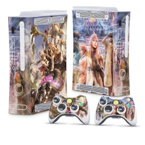 Xbox 360 Fat Skin - Final Fantasy XIII #B
