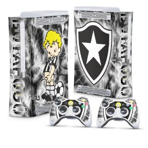 Xbox 360 Fat Skin - Botafogo
