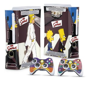 Xbox 360 Fat Skin - Simpsons