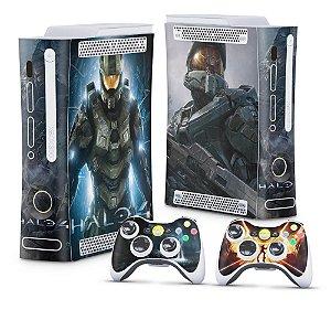 Xbox 360 Fat Skin - Halo 4