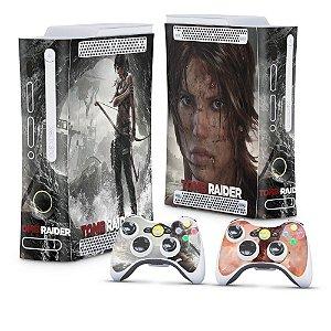Xbox 360 Fat Skin - Tomb Raider
