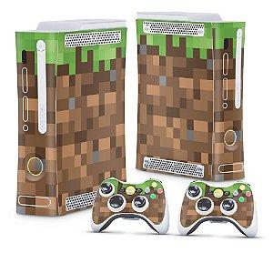 Xbox 360 Fat Skin - Minecraft