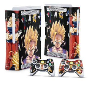 Xbox 360 Fat Skin - Dragon Ball Z