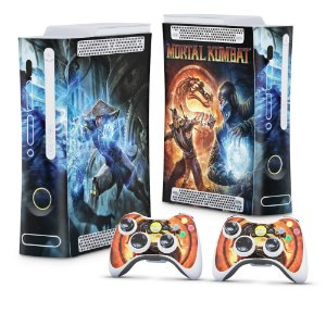 Xbox 360 Fat Skin - Mortal Kombat
