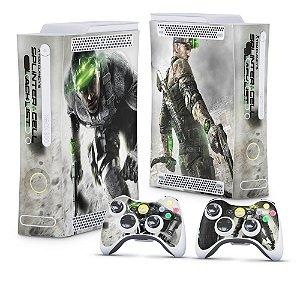 Xbox 360 Fat Skin - Splinter Cell Black List