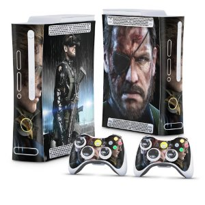 Xbox 360 Fat Skin - Metal Gear Solid V