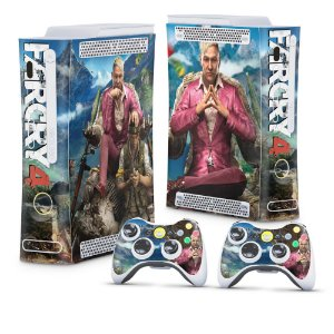 Xbox 360 Fat Skin - Far Cry 4