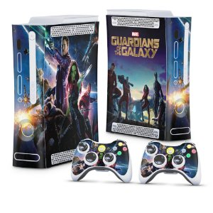 Xbox 360 Fat Skin - Guardiões da Galaxia