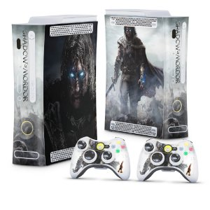 Xbox 360 Fat Skin - Middle Earth: Shadow of Mordor