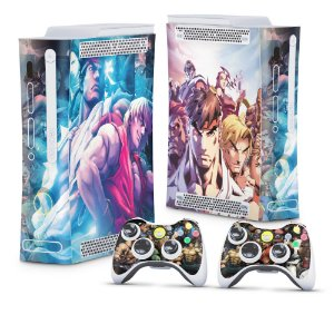 Xbox 360 Fat Skin - Street Fighter
