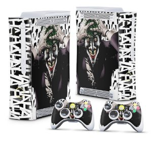 Xbox 360 Fat Skin - Joker Coringa