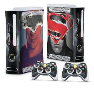 Xbox 360 Fat Skin - Batman vs Superman