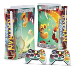 Xbox 360 Fat Skin - Rayman Legends
