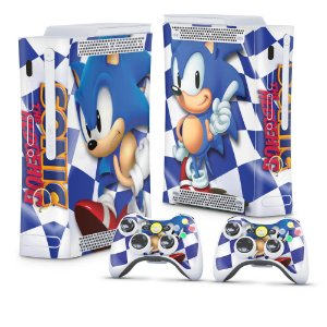 Xbox 360 Fat Skin - Sonic The Hedgehog