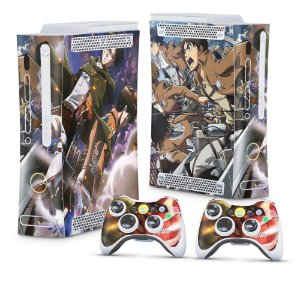 Xbox 360 Fat Skin - Attack on Titan #A