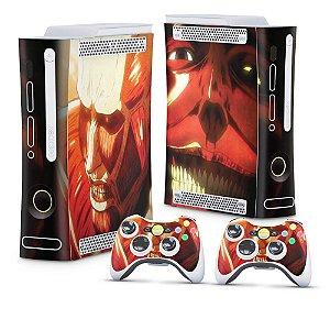 Xbox 360 Fat Skin - Attack on Titan #B