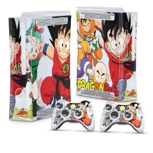 Xbox 360 Fat Skin - Dragon Ball Clássico