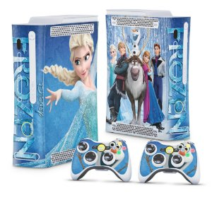 Xbox 360 Fat Skin - Frozen