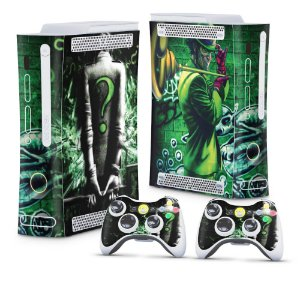 Xbox 360 Fat Skin - Charada Batman