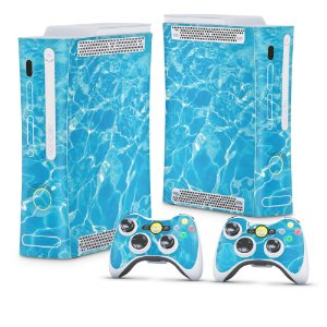 Xbox 360 Fat Skin - Aquático Água