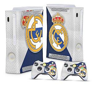 Xbox 360 Fat Skin - Real Madrid FC