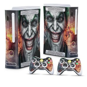 Xbox 360 Fat Skin - Coringa Joker #B