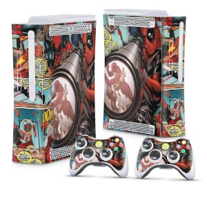 Xbox 360 Fat Skin - Deadpool