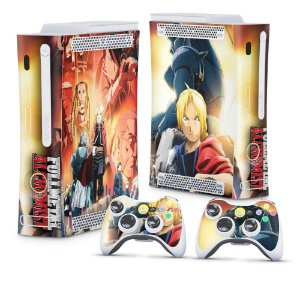 Xbox 360 Fat Skin - Fullmetal Alchemist: Brotherhood