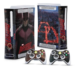 Xbox 360 Fat Skin - Daredevil Demolidor