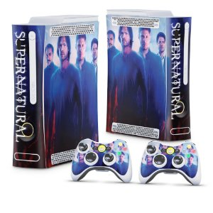 Xbox 360 Fat Skin - Supernatural Sobrenatural