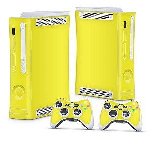 Xbox 360 Fat Skin - Amarelo