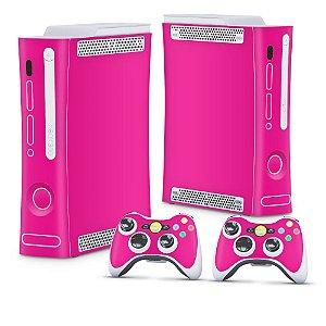Xbox 360 Fat Skin - Rosa Pink