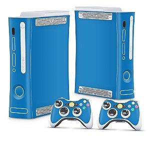 Xbox 360 Fat Skin - Azul Claro