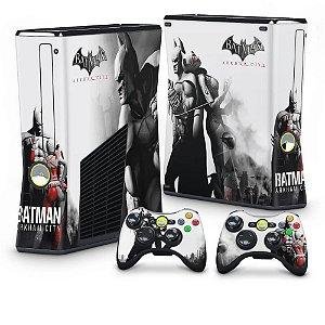 Xbox 360 Slim Skin - Batman Arkham City