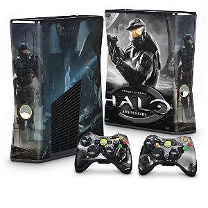Xbox 360 Slim Skin - Halo Anniversary
