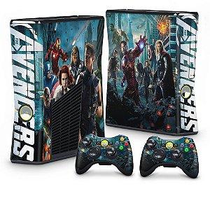 Xbox 360 Slim Skin - The Avengers - Os Vingadores