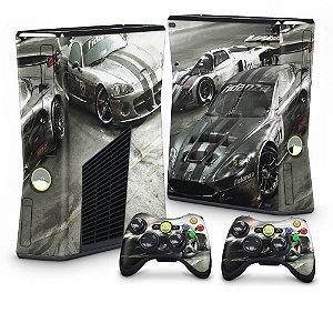 Xbox 360 Slim Skin - Race Driver Grid